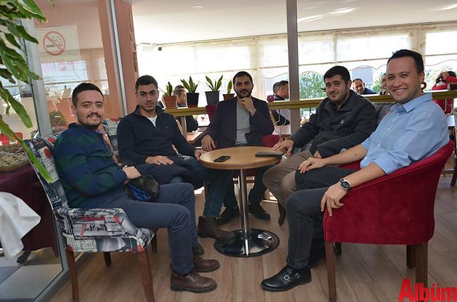 Melih Can, Ercan Şerif Kaya, Ayhan Atız, Turgut Acıkara, Mustafa Tokaç