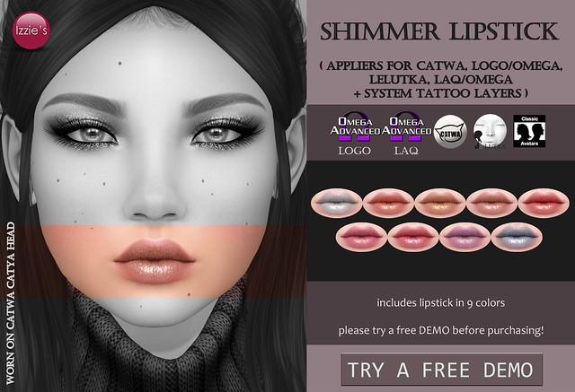Shimmer Lipstick (@ Tannenbaum)