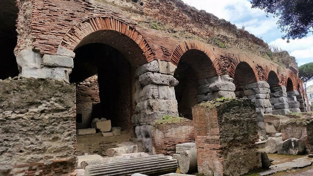 Amfiteatr Flawiuszów Pozzuoli, Włochy