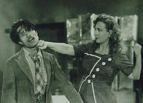 Azeem (Actor of 40s) & Fearless Nadia in Dhoomketu (Comet)-1949