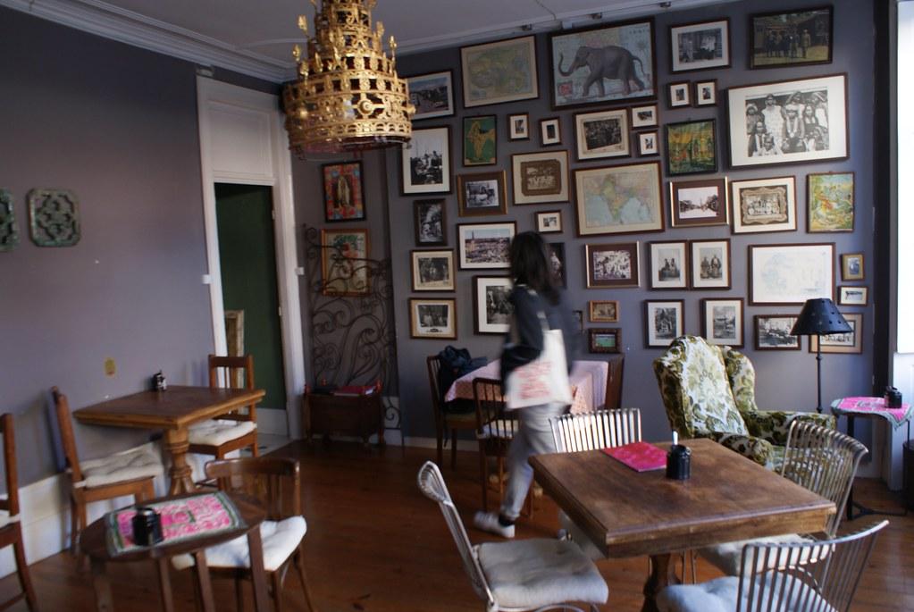 > Rota Do Chá, salon de thé dans le quartier de Cedofeita à Porto.