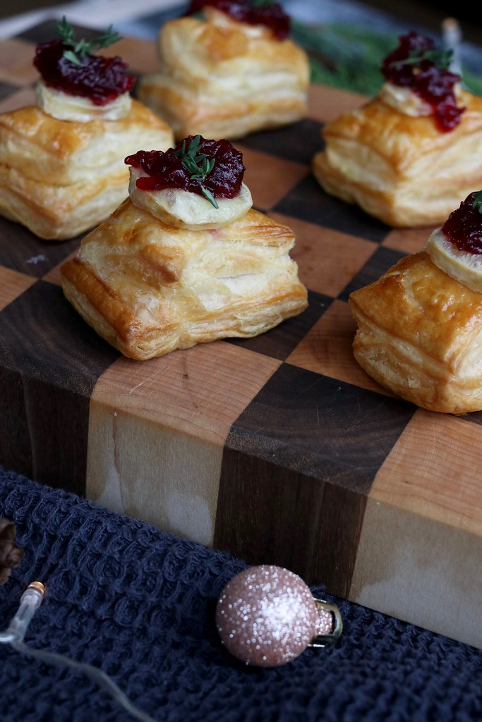 food, cooking, kate cooks, brie and cranberry bites, christmas canapés, canapés, easy canapés , christmas food, xmas food, christmas starters , quick and easy food,