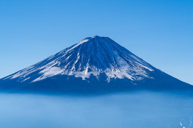 富士山@雪頭ヶ岳