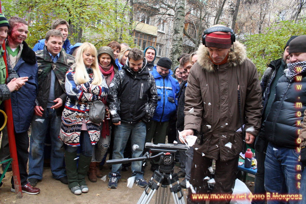 Традиции неизменны. Фото рабочего момента, в телесериале «Страна 03».