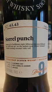SMWS 63.43 - Sorrel punch