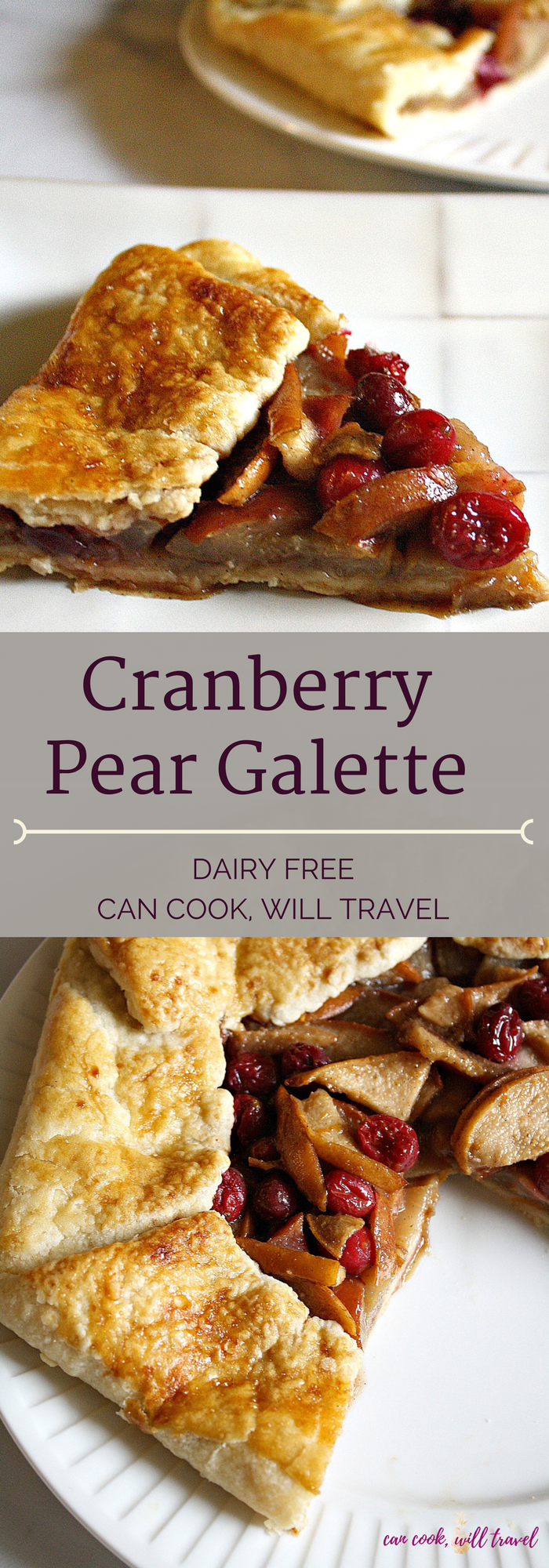 Cranberry Pear Galette_Collage1