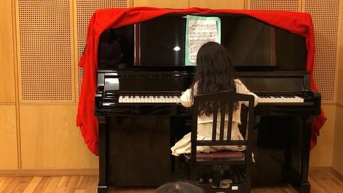 娘のピアノ発表会\
