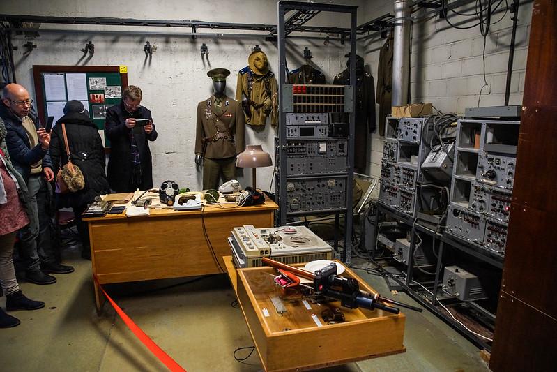 KGB listening room