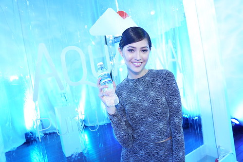 Asia's Next Top Model winner, Maureen Wroblewitz for Aquafina