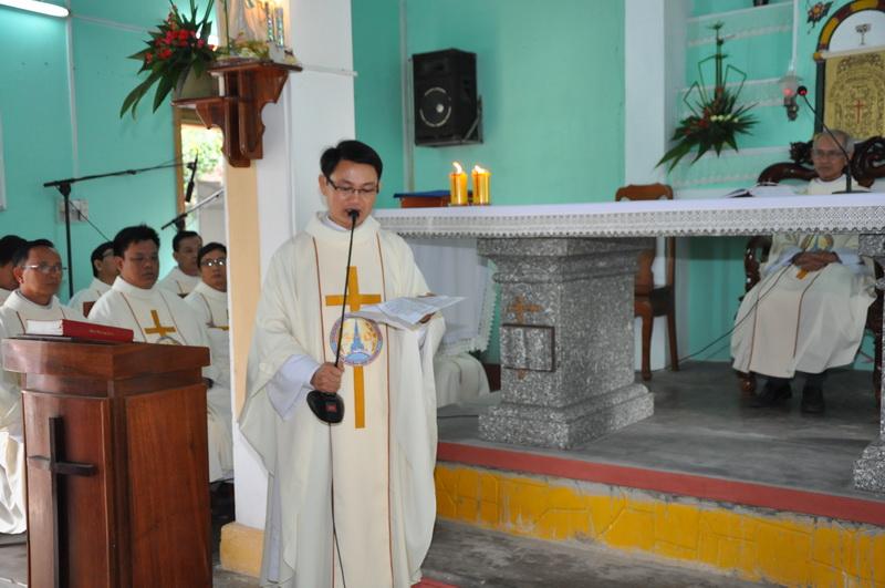 Thánh lễ bổ nhiệm Cha Phó Biệt Lập Giáo họ Vân Canh