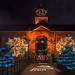Dunham Christmas Illuminations - the clock tower