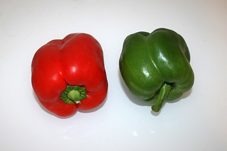 07 - Zutat Paprika / Ingredient bell pepper