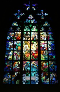 Mucha Window, St. Vitas Cathedral, Prague | by rob.mcgonigle