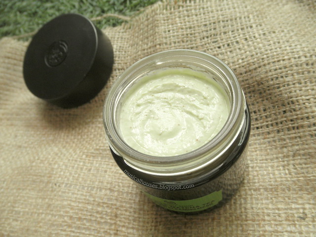 The Body Shop Japanese Matcha Tea Face Mask Review Pollution Clearing