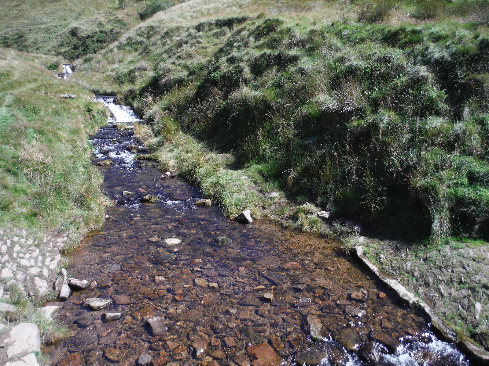 The River Noe by Jacob's Ladder SWC Walk 303 - Edale Circular (via Kinder Scout and Mam Tor)