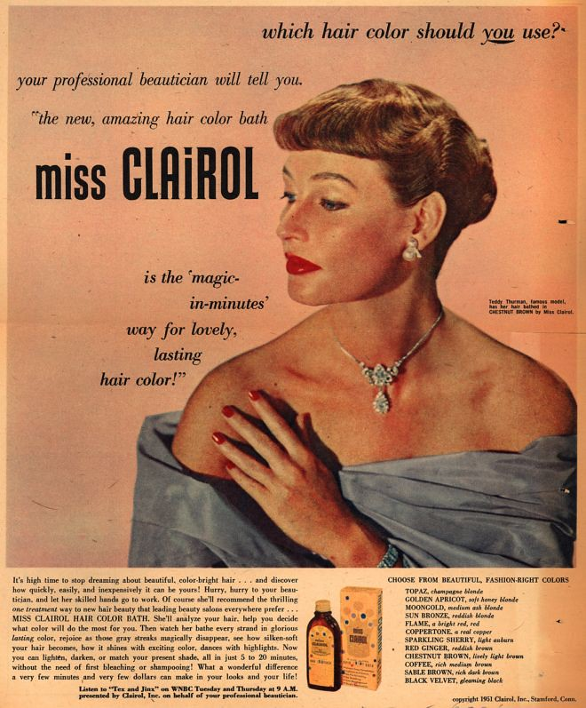 1950 Miss Clairol 3 M Jackson Flickr