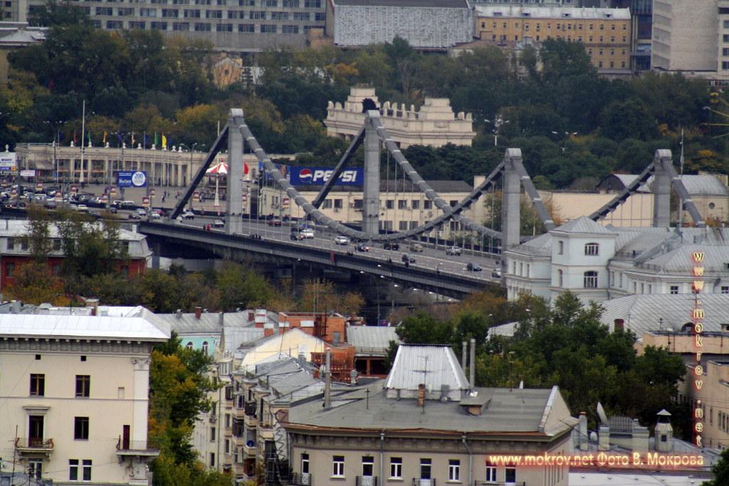 Крымский мост в Москве.
