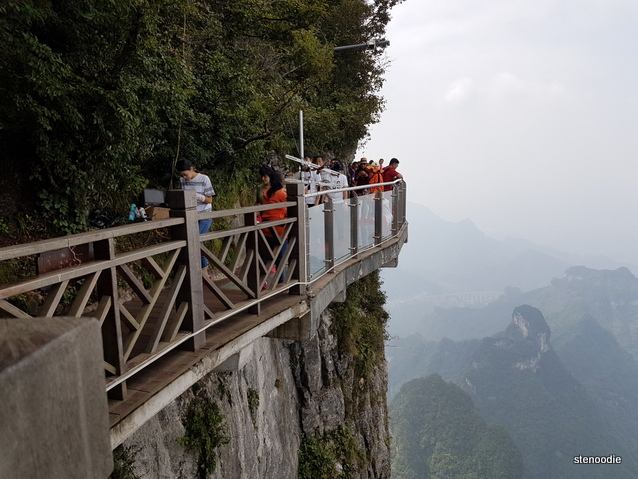 Tianmen Mountain glass path