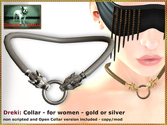 Bliensen - Dreki - Collar for women