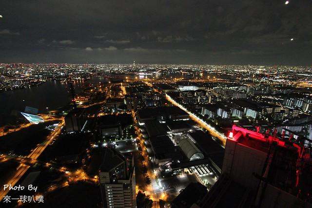大阪府咲洲行政大樓展望台40