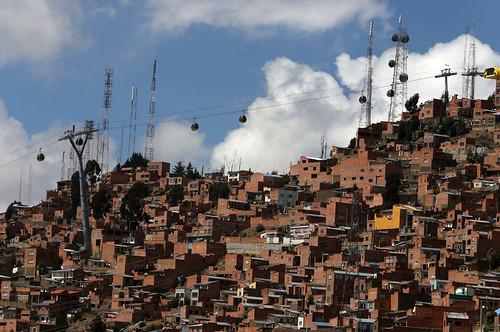 La Paz cable car system