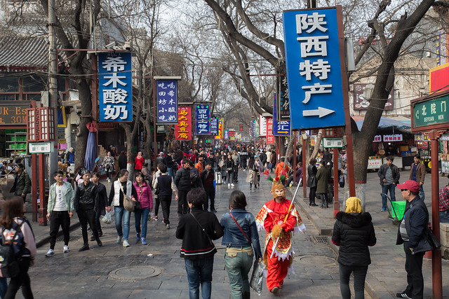 The Streets of Xian
