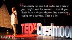 TEDxCrestmoorParkWomen 2017 Susan Frew Quote 2