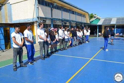 4ºMedio se despide del Colegio