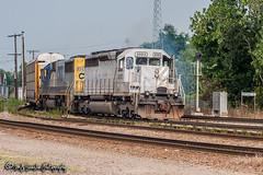 GCFX 3082   EMD SD40-2   BNSF Thayer South Subdivision