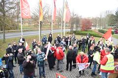 Demo von Coca Cola Mitarbeiter