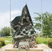 Sam Houston City of Sabine Sesquicentennial Monument, Sabine Pass, Texas 1707301222