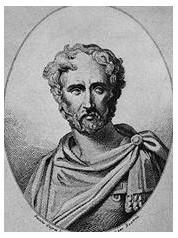 imagined portait of Pliny the Elder