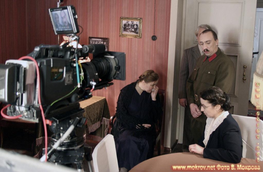 На съемках худ. фильма «Светлана» с Фотоаппаратом