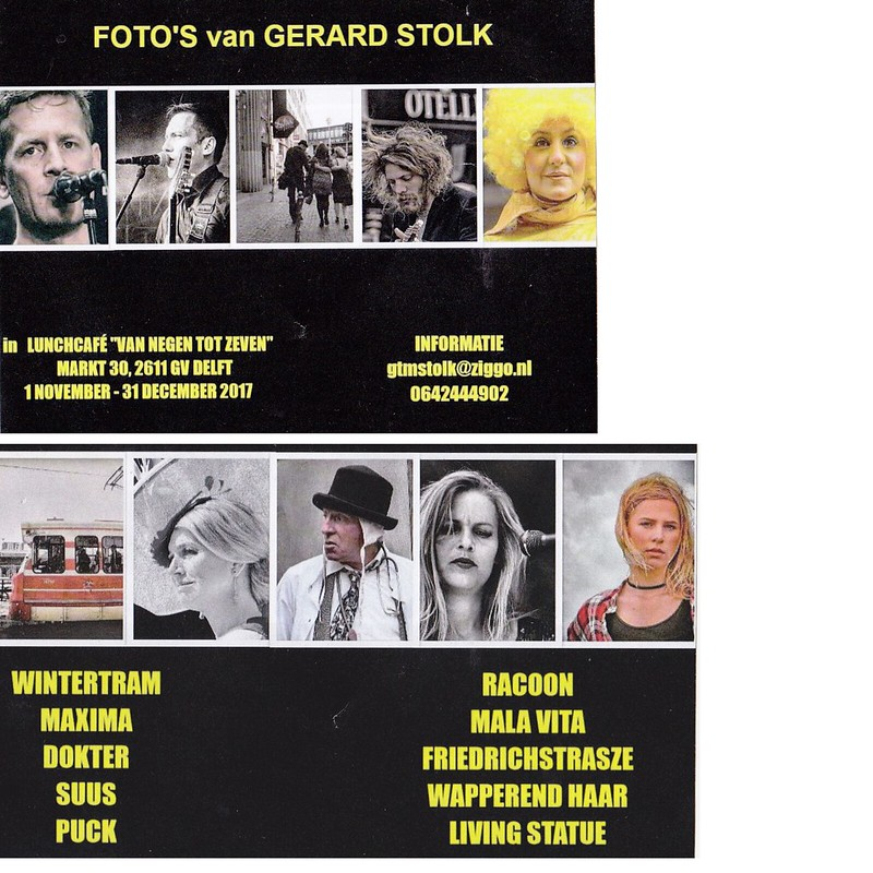 Gerard Stolk exhibition