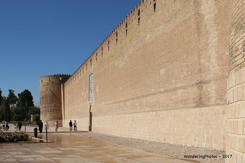 Fortress Walls - Arg-e Karim Khan Zand - Shiraz Iran