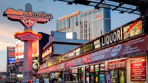 Harley Davidson Las Vegas Strip