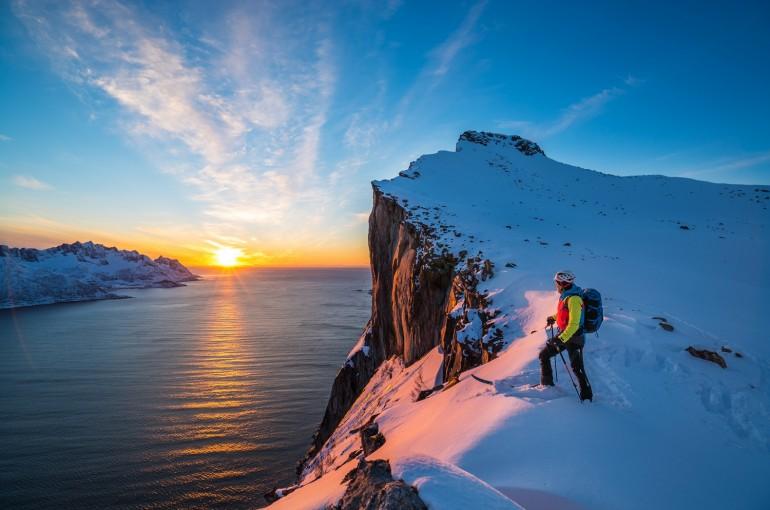Norské hory okolo Tromsø v obrazech
