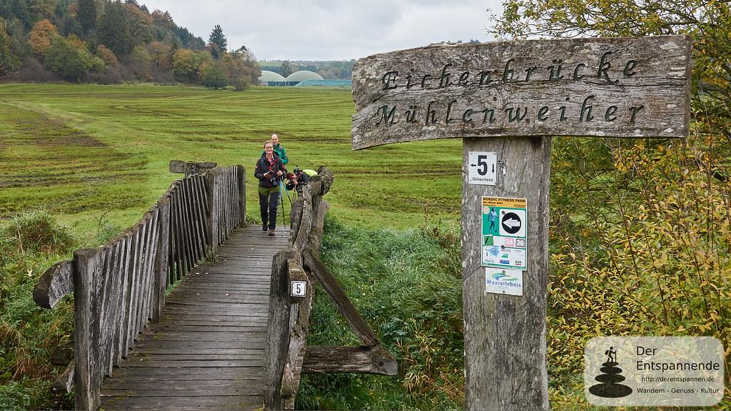 Eichenbrücke Mühlenweiher