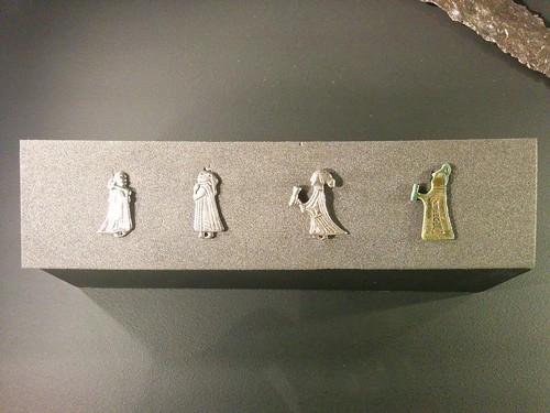 Valkyrie pendants #toronto #royalontariomuseum #vikingsto #sweden #vikings #pendant #jewelry #valkyrie #latergram