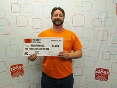 John Hawkes - $1,000 - Idaho $1,000,000 Raffle