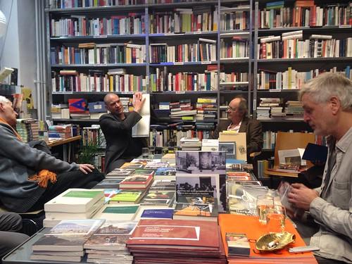 Verlagsabend Arco Buchhandlung a.punkt Wien 1.12.2017 mit Kammermusik (Joyce - ANH HS)