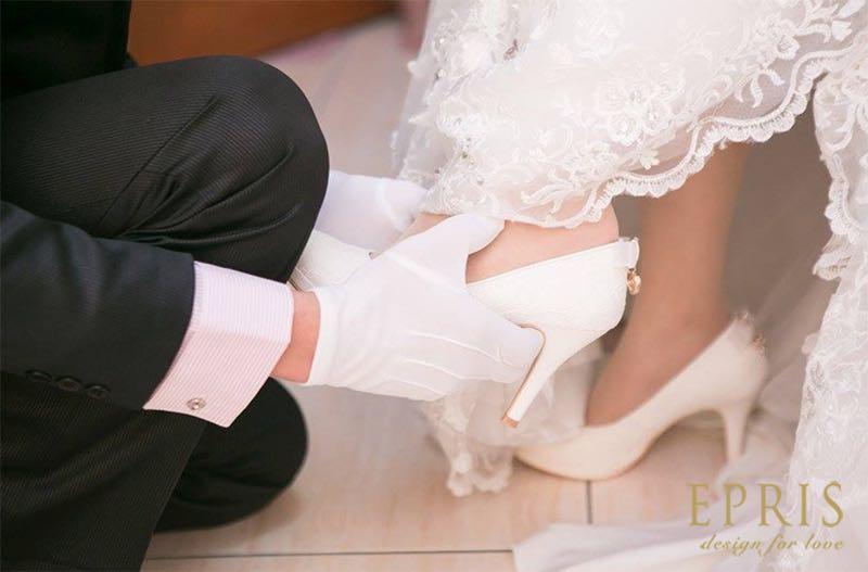 量腳尺寸,絲婚,,選禮時刻,美周報,昆娜婚紗,劉詩詩的水晶婚鞋,昆娜,艾佩絲EPRIS婚鞋
