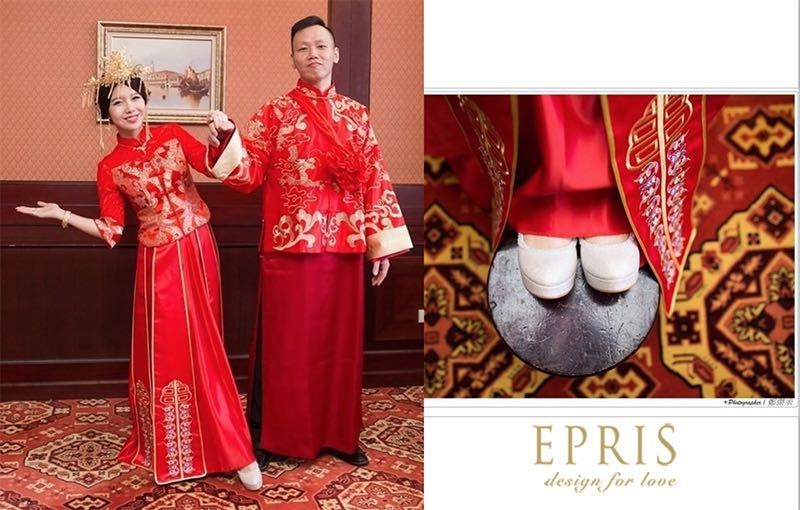 婚鞋夾,婚鞋鞋扣,鞋飾扣,婚鞋裝飾,改造婚鞋,新娘鞋diy,夾式鞋花艾佩絲EPRIS婚鞋