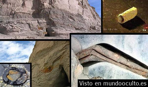 Los enigmáticos tubos del Monte Baigong