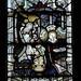 Church Eaton, Staffordshire, St. Editha, north aisle window, annunciation to Mary