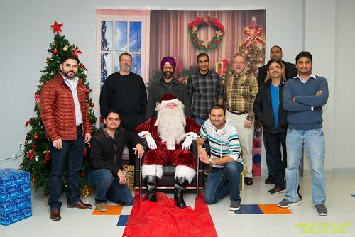 Santa at Teecs-131
