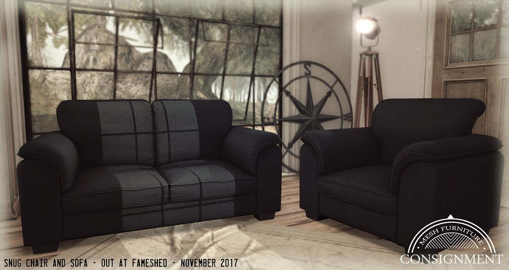 Snug Sofa and Chairs @ Fameshed - TeleportHub.com Live!