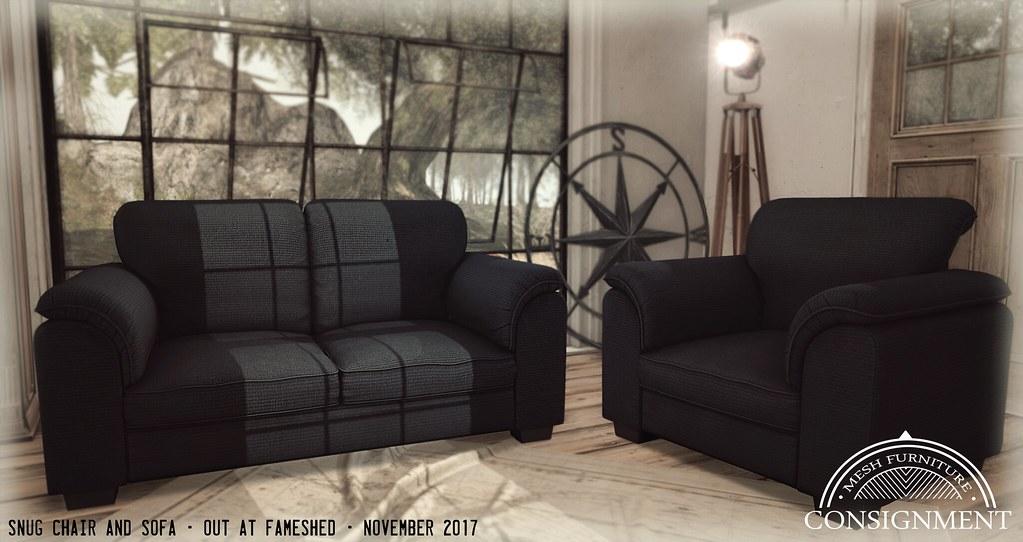Snug Sofa and Chairs @ Fameshed