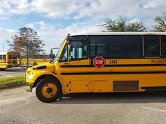 5499 - 2018 Thomas Saf-T-Liner C2 - Hillsborough County School Bus