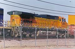 BNSF C44-9W No. 4576 At Hobart Yard